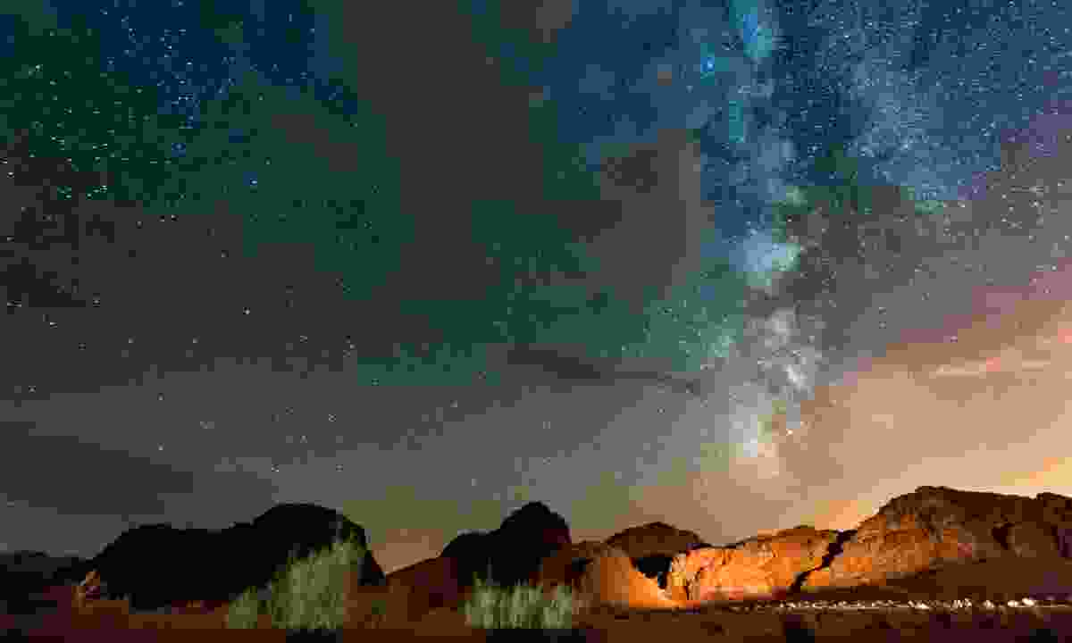 The Wadi Rum desert offers some of the world's best star gazing (Dreamstime)