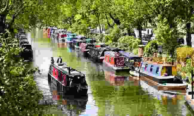 Enjoy a scenic walk along Regent's Canal past Little Venice (Dreamstime)