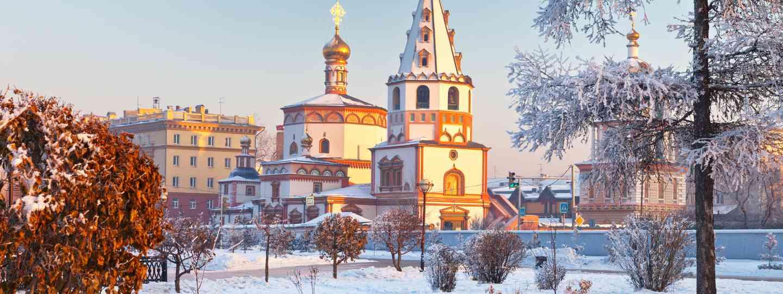 Epiphany Cathedral, Irkutsk (Sundowners Overland)