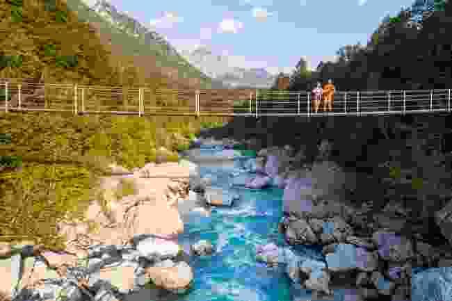 Bridge over Soča river (Jošt Gantar)