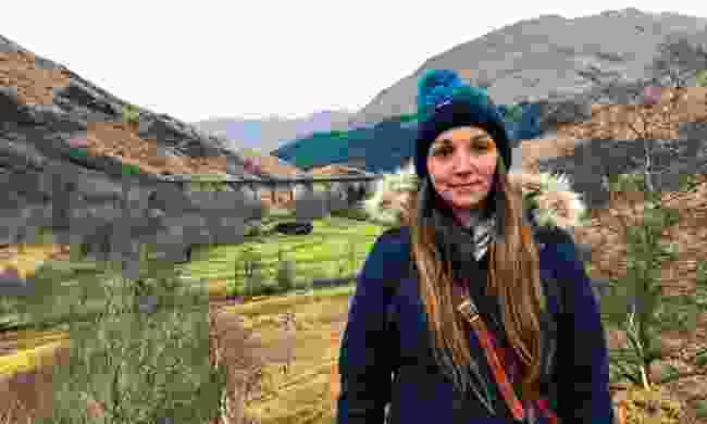 Wanderlust reader Hayley Hopkins-Edwards enjoying her time in the Scottish Highlands