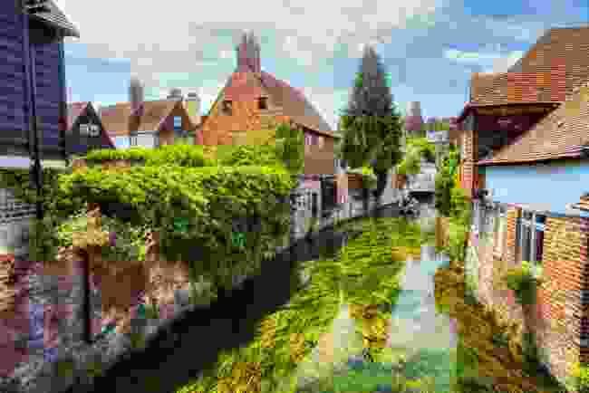 The River Stour running through Canterbury, Kent (Shutterstock)