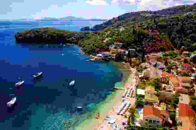 Kalami Beach, Corfu (Shutterstock)