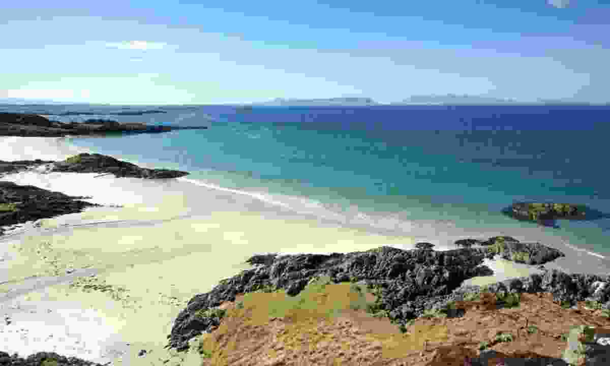 Eigg and Rùm from Arisaig (Shutterstock)