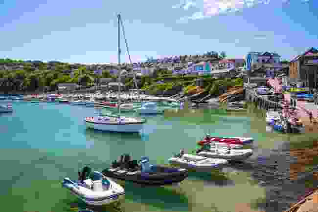 New Quay, Wales (Shutterstock)