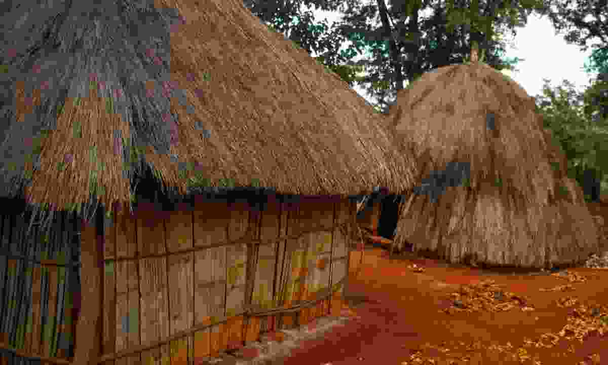 West Timor None Village Traditional House (Mark Stratton)