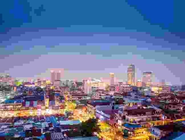 Cambodia's frenetic capital, Phnom Penh (Alex Robinson)