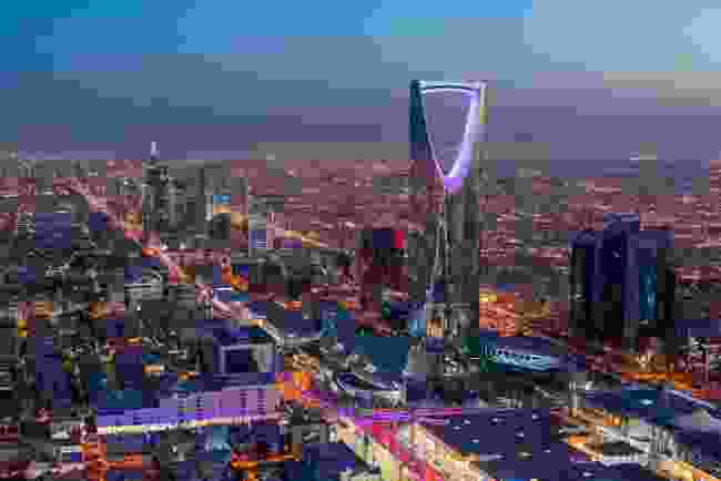 Riyadh, the capital of Saudi Arabia (Shutterstock)