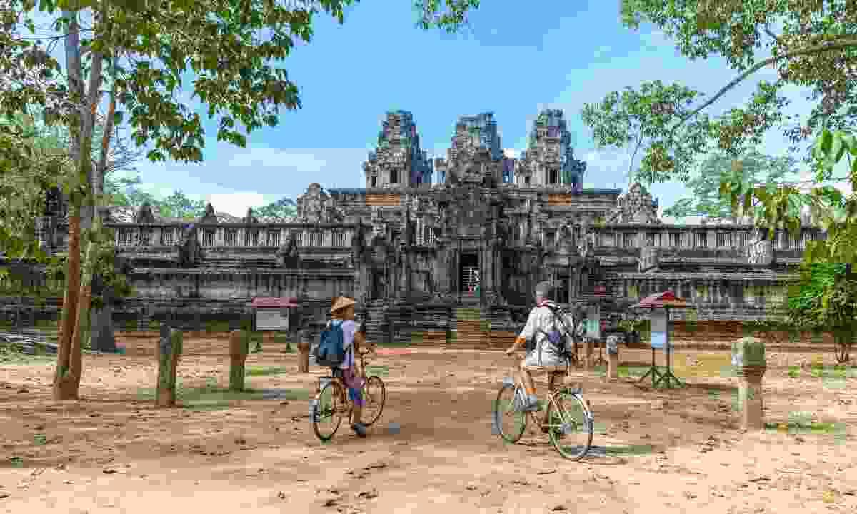 Cycle Angkor Wat (Shutterstock)