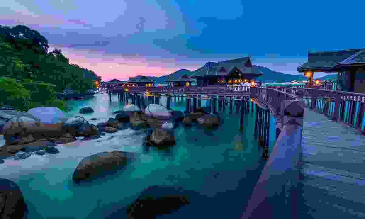 Sunset on Pangkor Island, Malaysia. (Shutterstock)