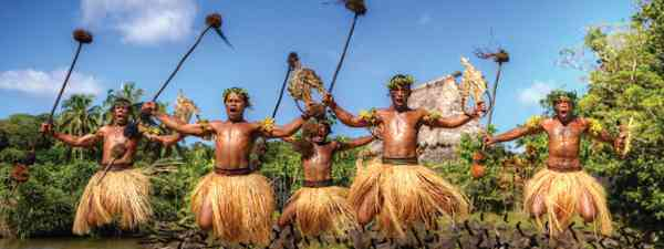 Fijian warrior dance (Mark Snyder)