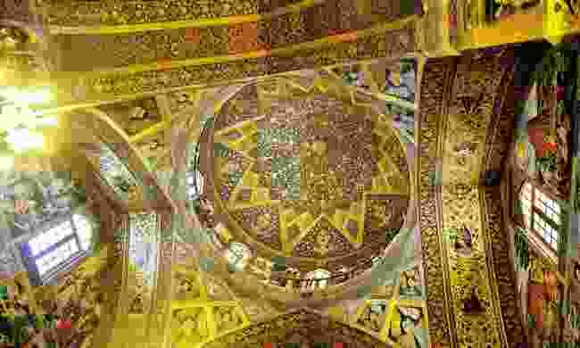 Mosque ceiling (Golden Eagle Luxury Trains)