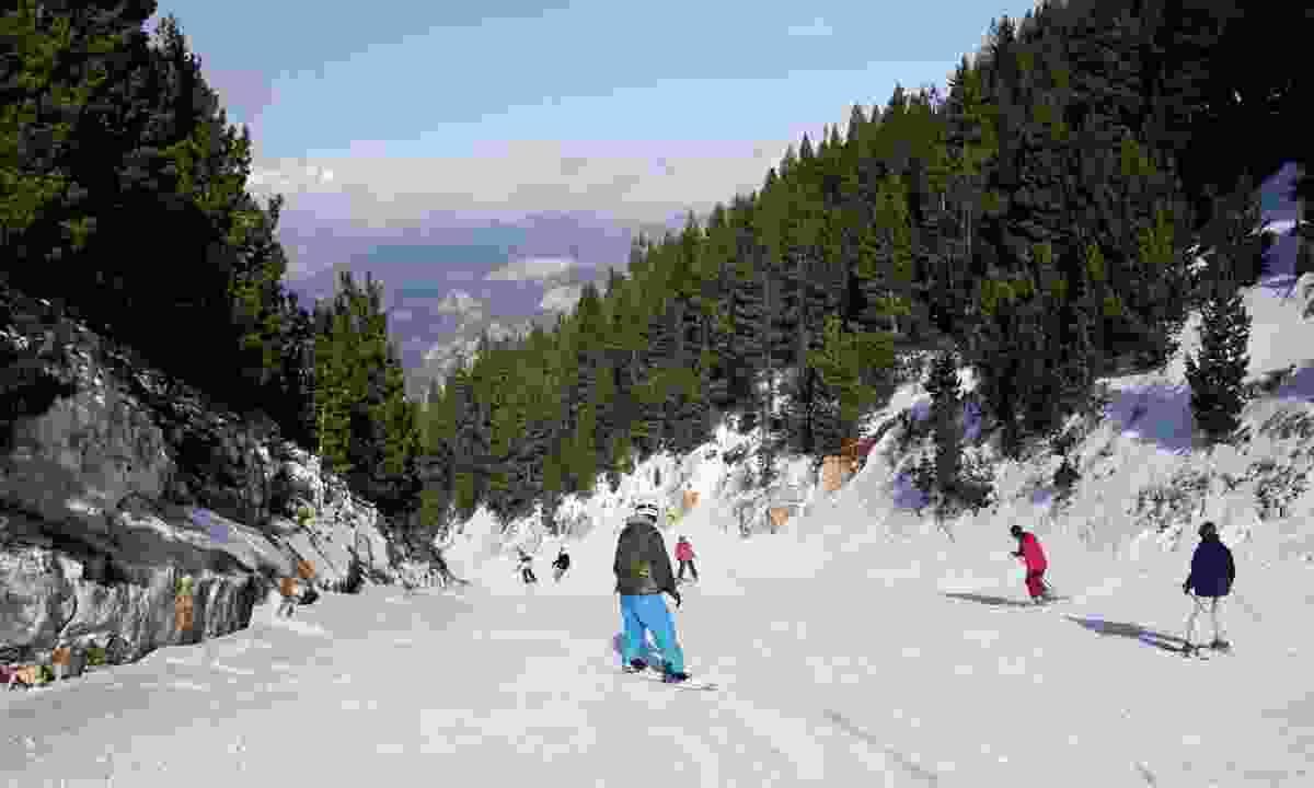 Skiing in Port del Comte (Oriol Clavera)