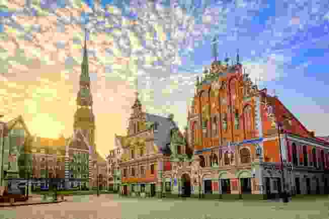 Riga, Latvia (Shutterstock)
