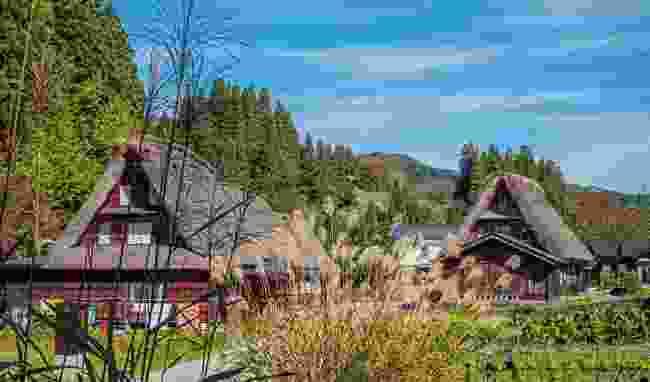 Visit the UNESCO village of Ainokura