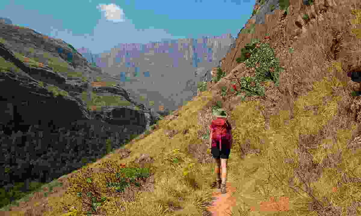 Simply gorge-ous! Walking in Tugela Gorge puts the majesty of the Drakensberg on full show (Paul Bloomfield)