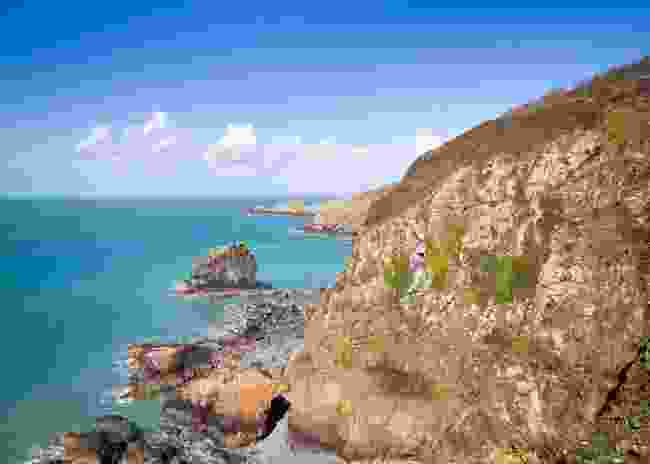 View of Sark's east coast (Dreamstime)