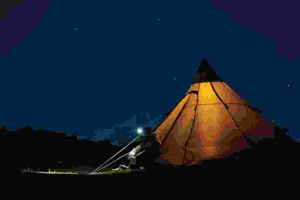 Leading lights: Wild camping (Graham Wynne)