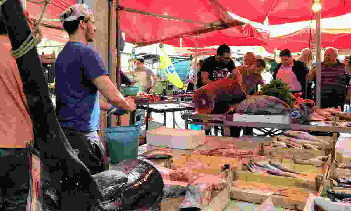 Ballarò Market (Andrea Moreno)