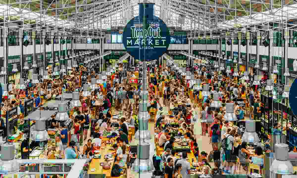 Time Out Market, Lisbon (Dreamstime)