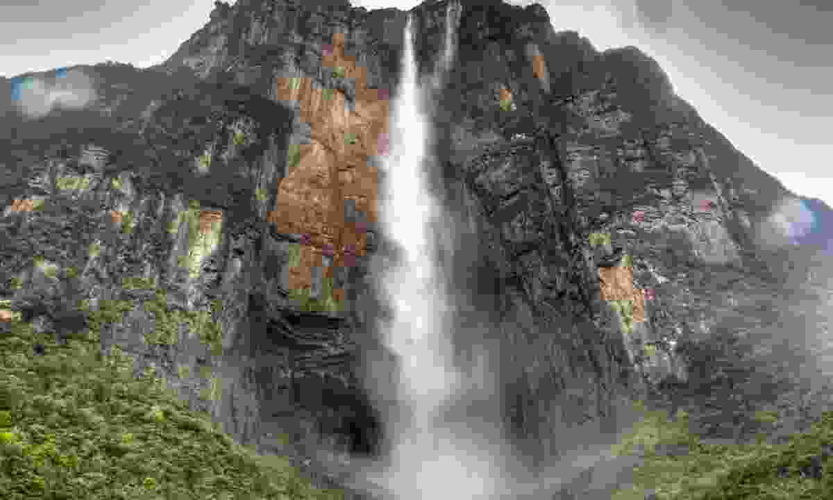 Auyán-tepui, home to Angel Falls - the highest in the world (Dreamstime)