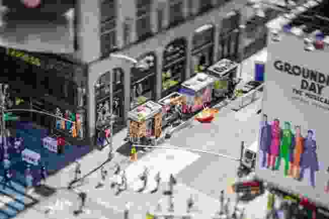 A New York street corner (Jasper Léonard)