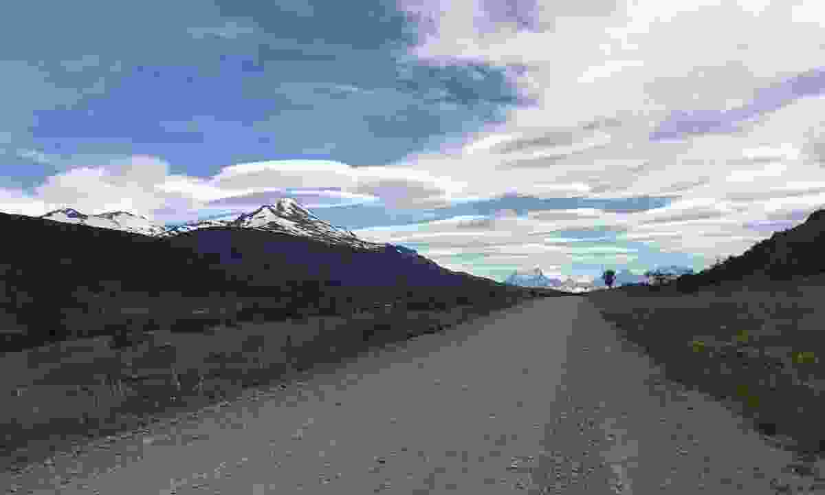 A road in Torres del Paine National Park (Pura Aventura)