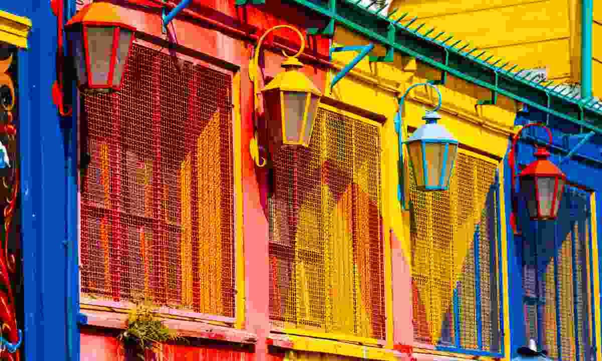 El Caminito quarter in La Boca (Shutterstock)