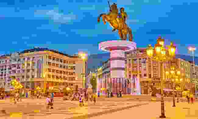 Statue of Alexander The Great, Macedonia Square (Shutterstock)