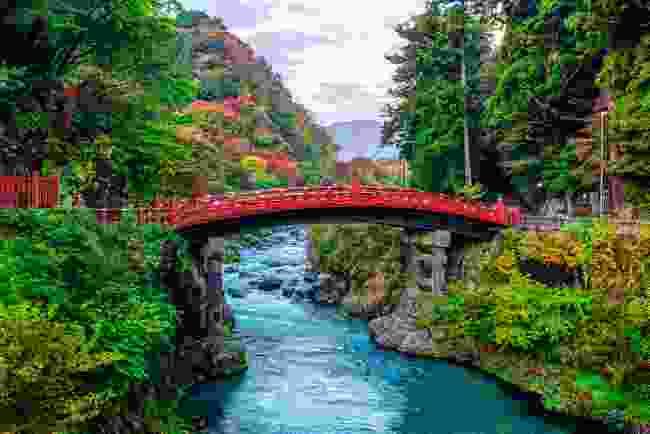 Shinkyo Bridge in Nikko (Shutterstock)