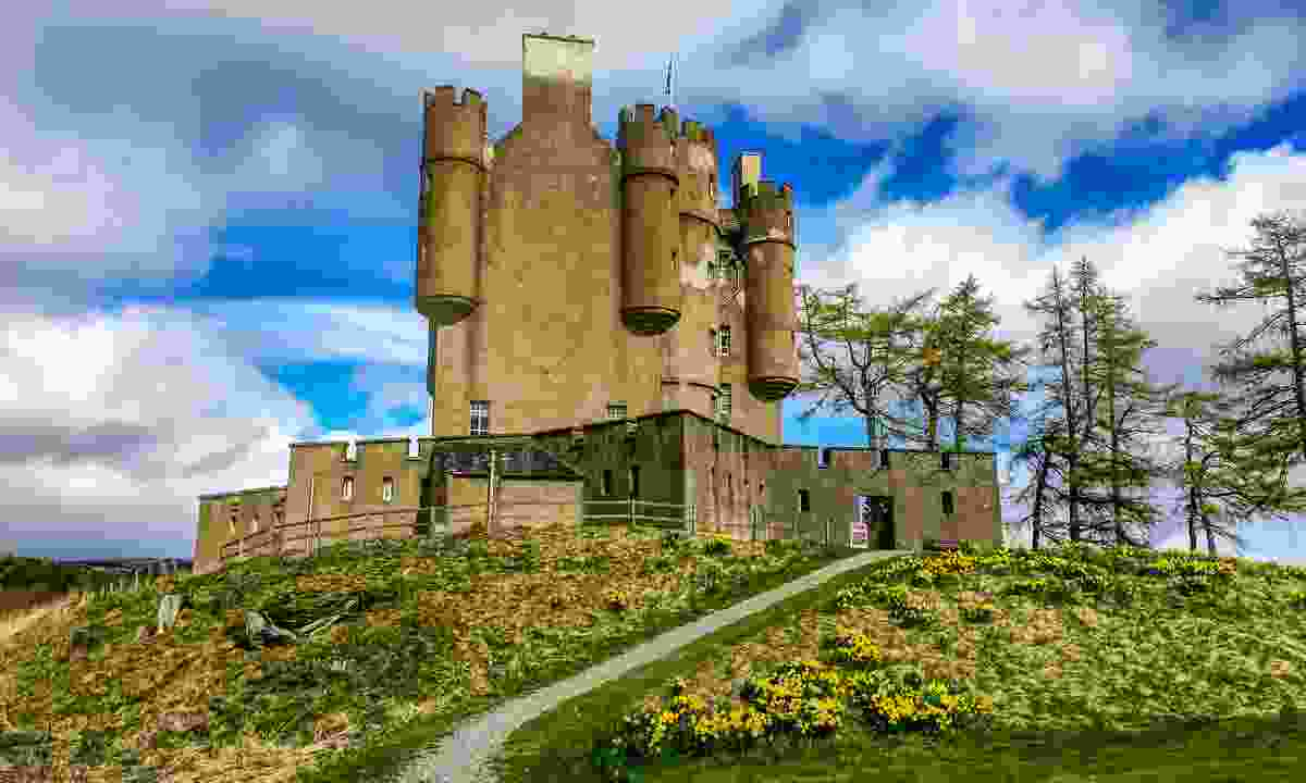 Braemar Castle in the highlands of Scotland (Shutterstock)