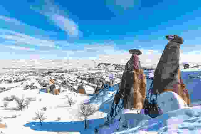 Cappadocia in winter (Shutterstock)