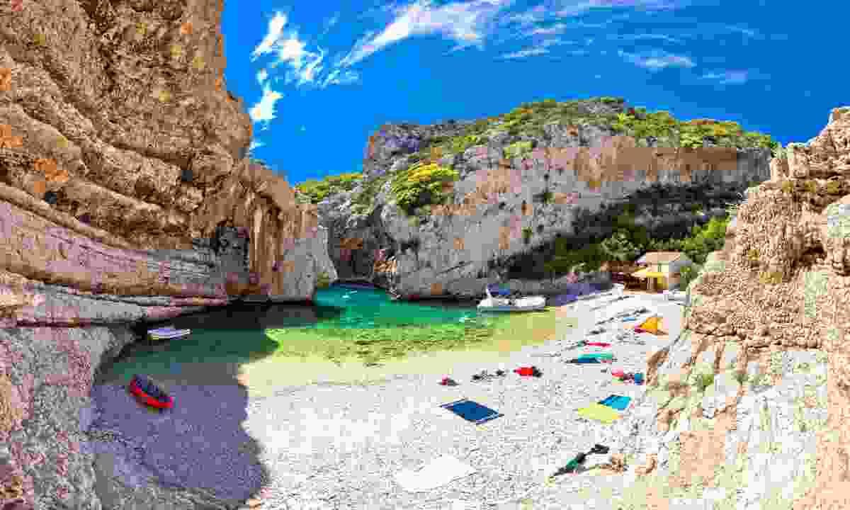 The beach at Stiniva (Shutterstock)