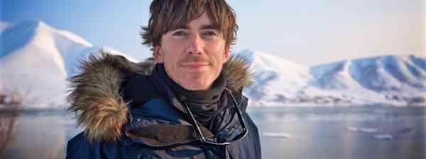 Simon in Kamchatka (Craig Hastings BBC)