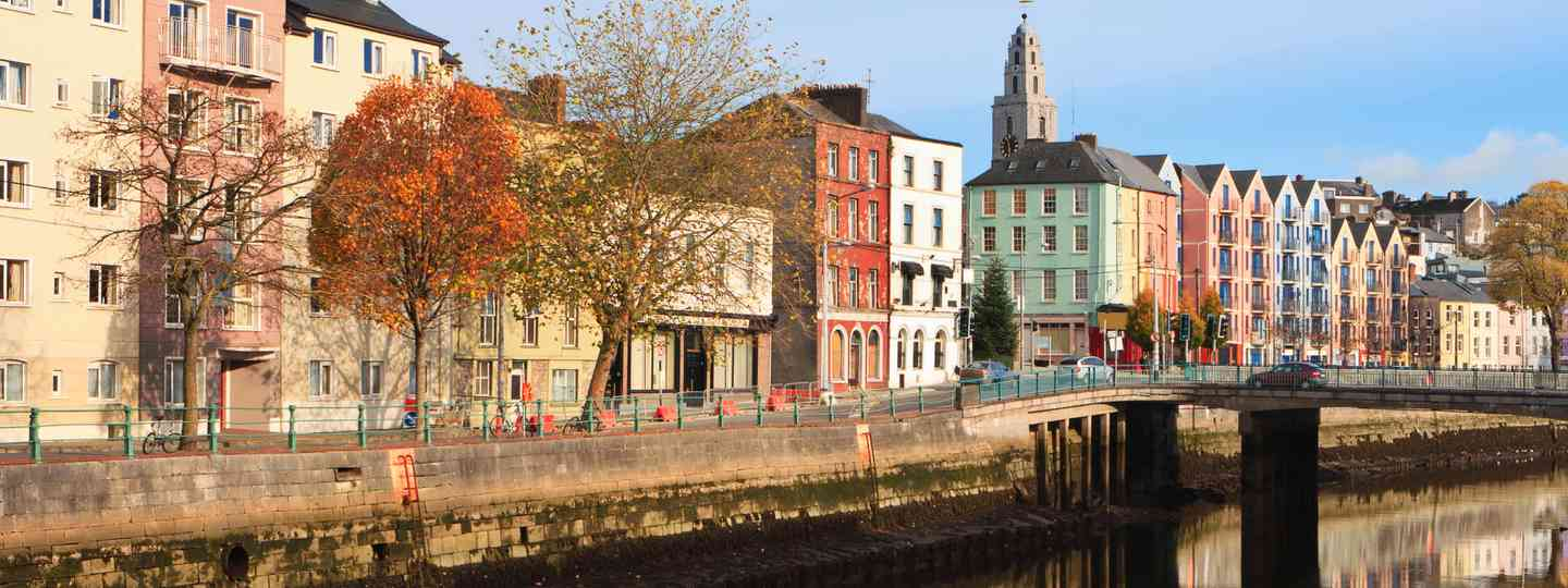 Colourful buildings in Cork (Dreamstime)