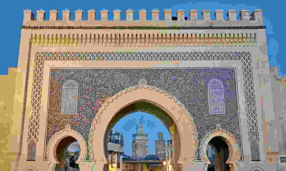 Bab Bou Jeloud gate (Dreamstime)
