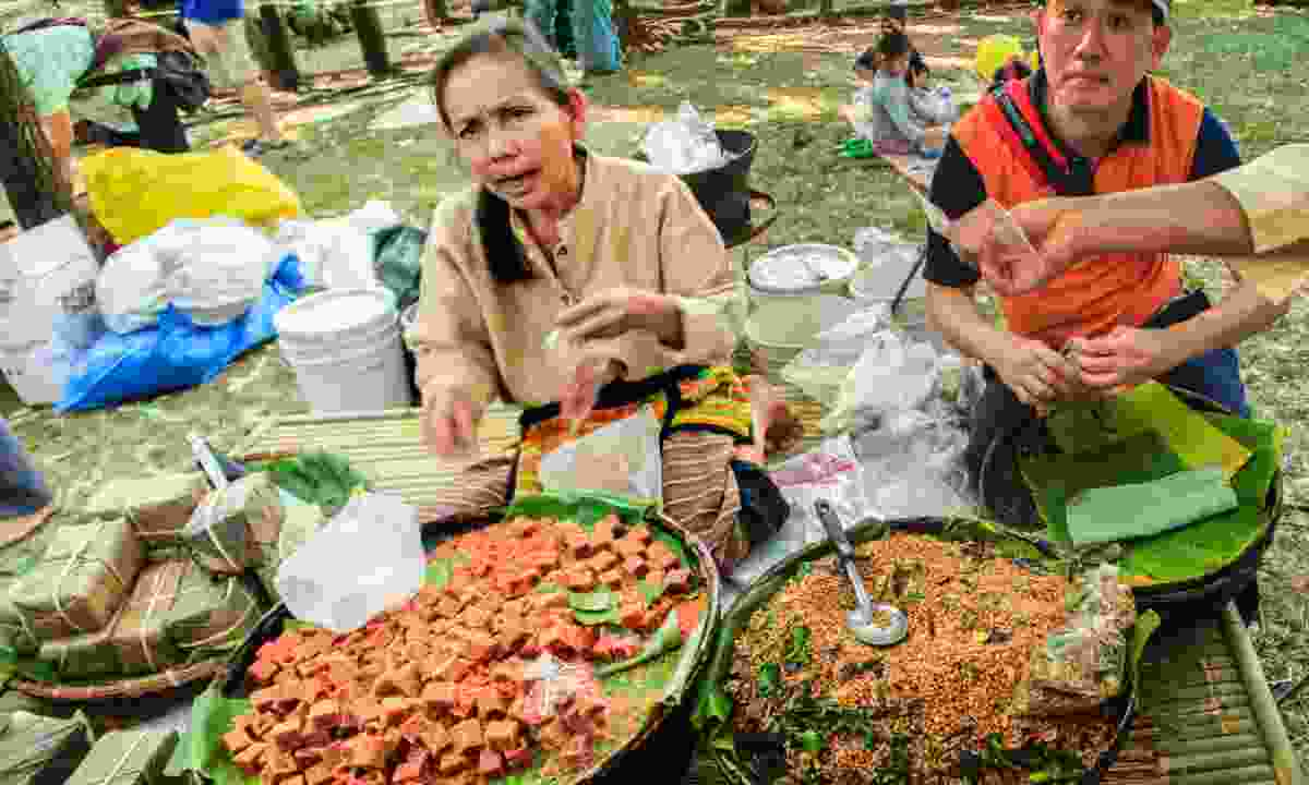 Bangkok street food (Dreamstime)