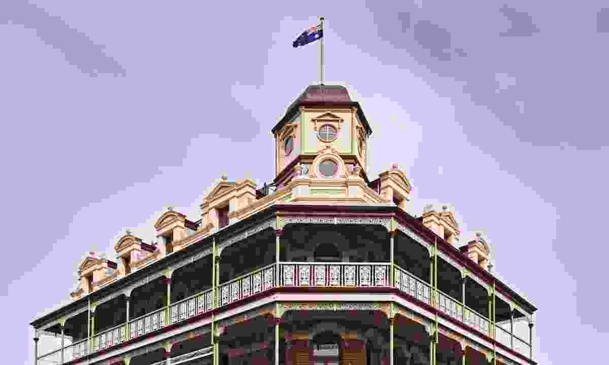 Historic architecture in Fremantle, Australia (Dreamstime)