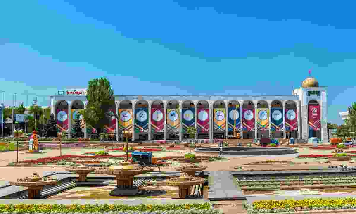 Ala-Too Square, Bishkek (Dreamstime)