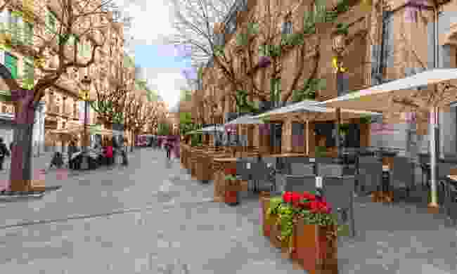 La Rambla is a lively and popular spot in Girona (Dreamstime)