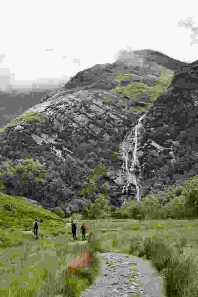 Steall Waterfall is the second highest in Scotland (Dreamstime)