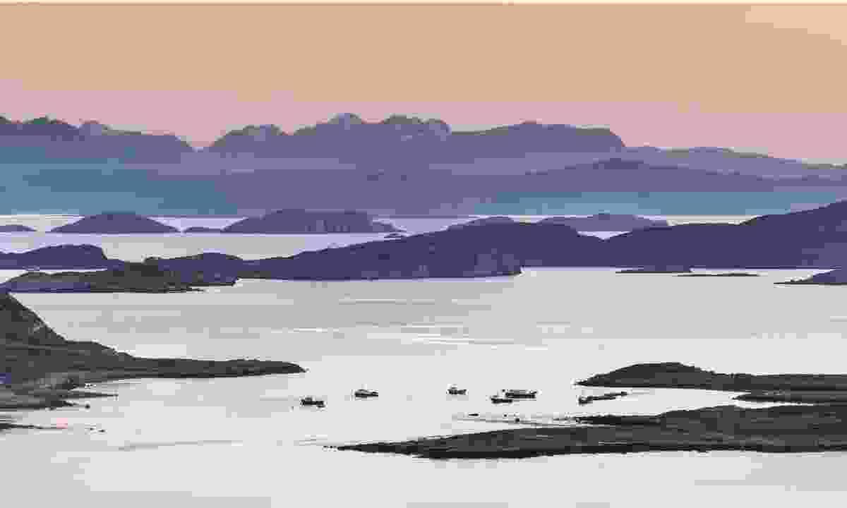 The Summer Isles, Scotland (Dreamstime)