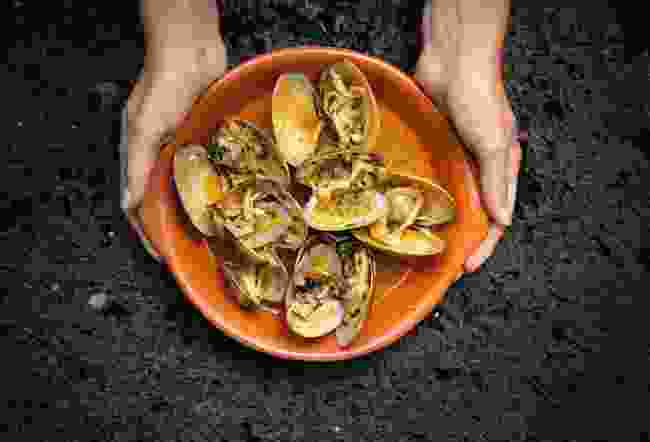 Try the Azores endemic clams which only grow on the island of São Jorge (Visit Azores)