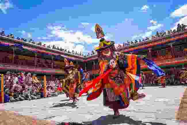 Hemis Tsechu Festival at Hemis Monastery, Ladakh (Shutterstock)