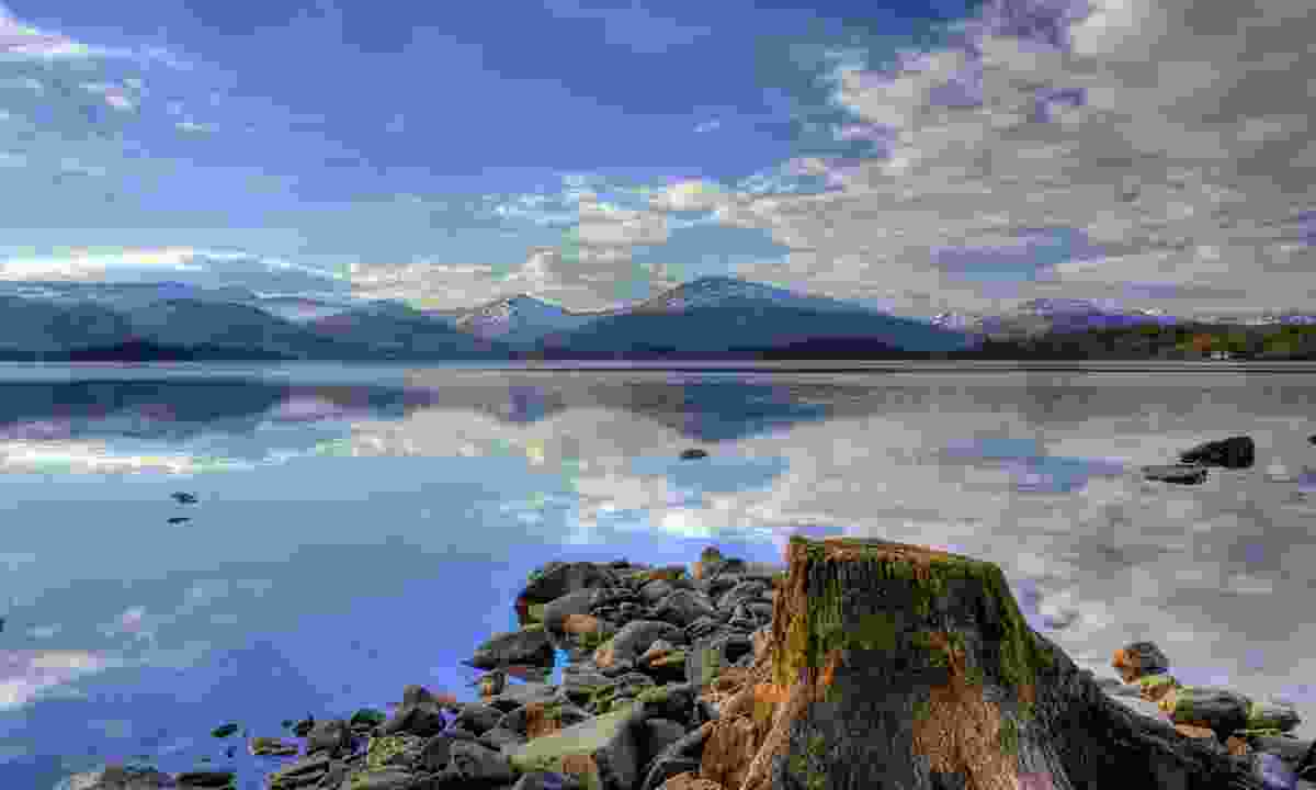Shores of Loch Lomond at Milarrochy Bay (Dreamstime)