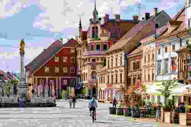 The town of hall of Slovenia's second city, Maribor (Shutterstock)