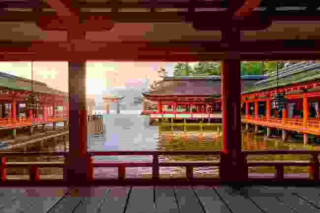 Itsukushima Shrine, Hiroshima, Japan (Shutterstock)