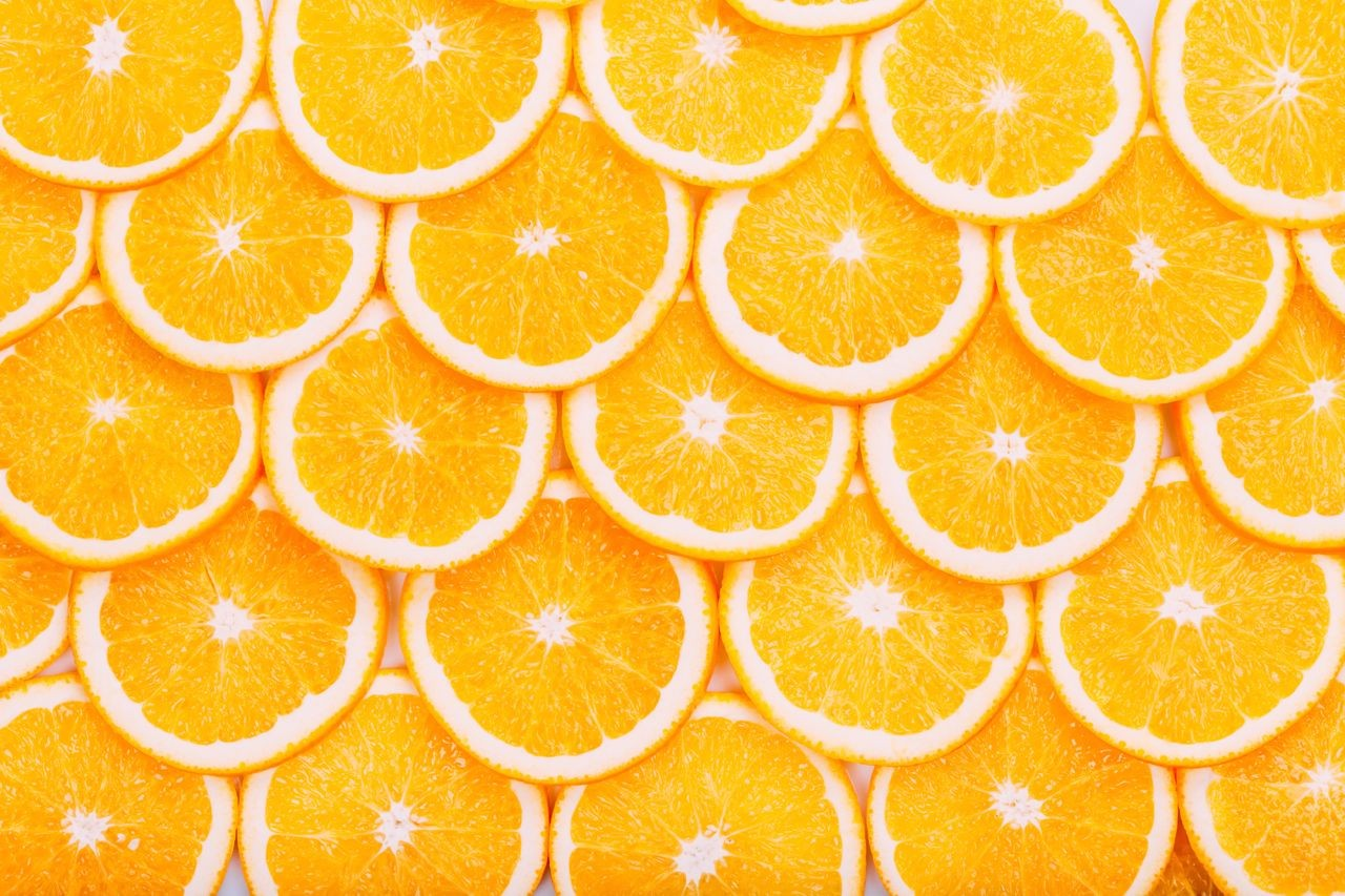Oranges bring good luck (Dreamstime)