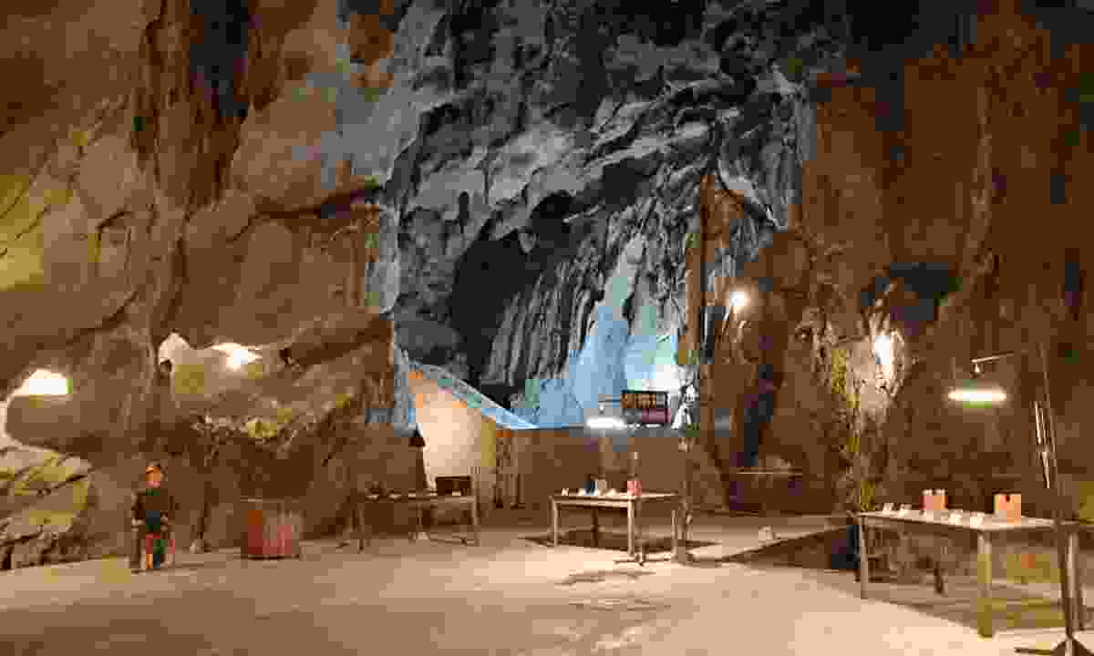 One of the many incredible rooms inside Hospital Cave, which was used during the Vietnam War (Shutterstock)