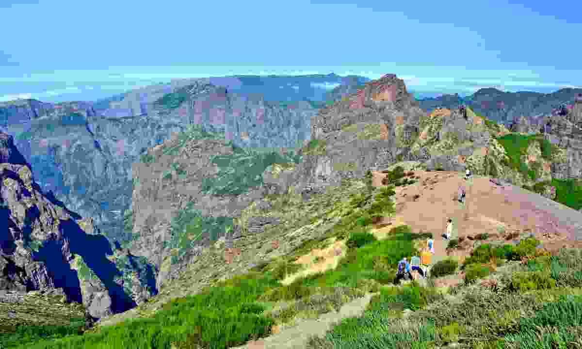 Hiking in Madeira (Shutterstock)